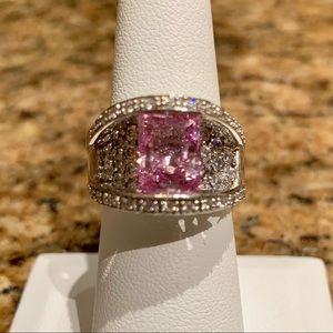 Victoria Wieck Pink Diamond CZ Ring